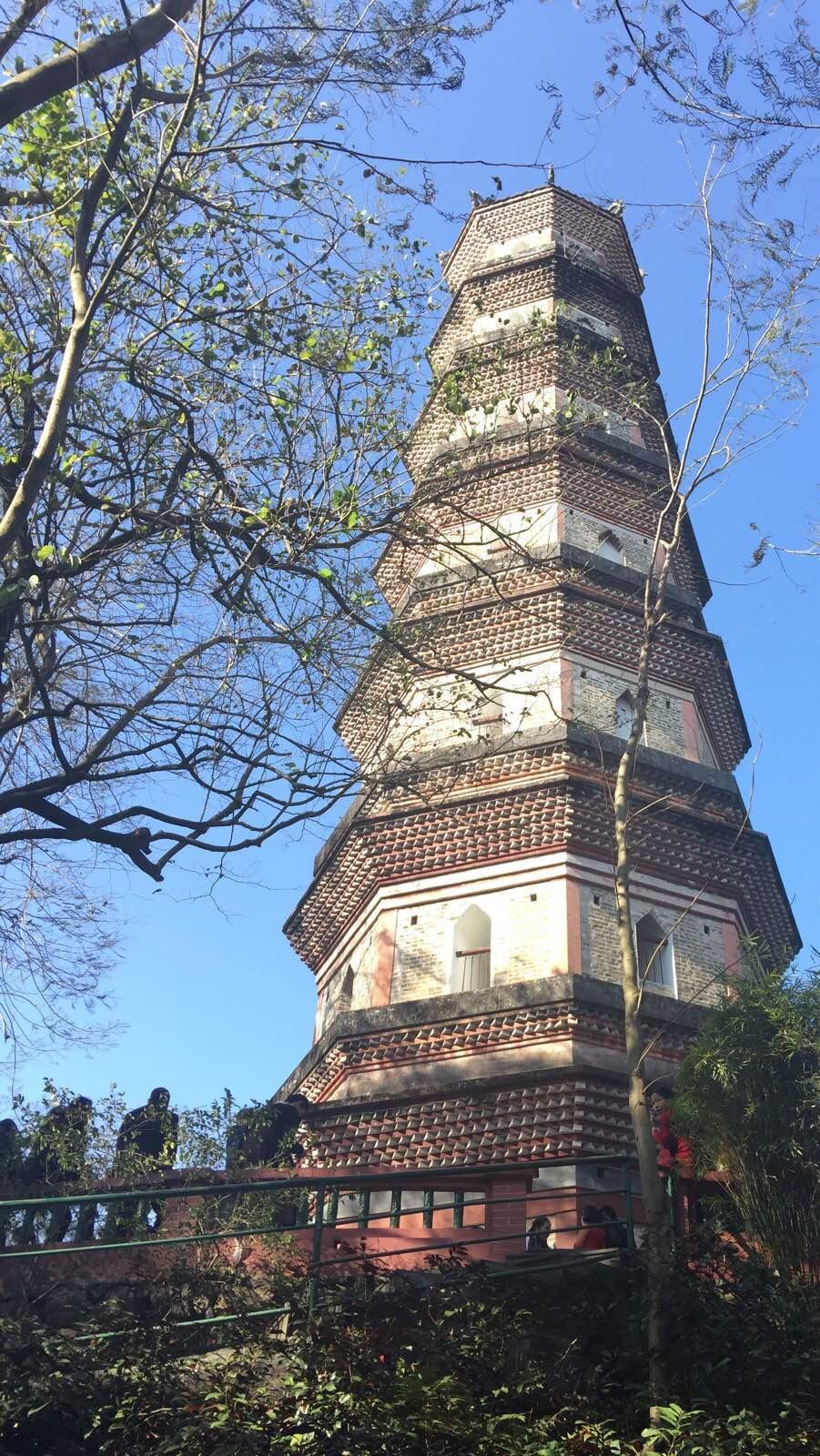 惠州西湖的宝塔