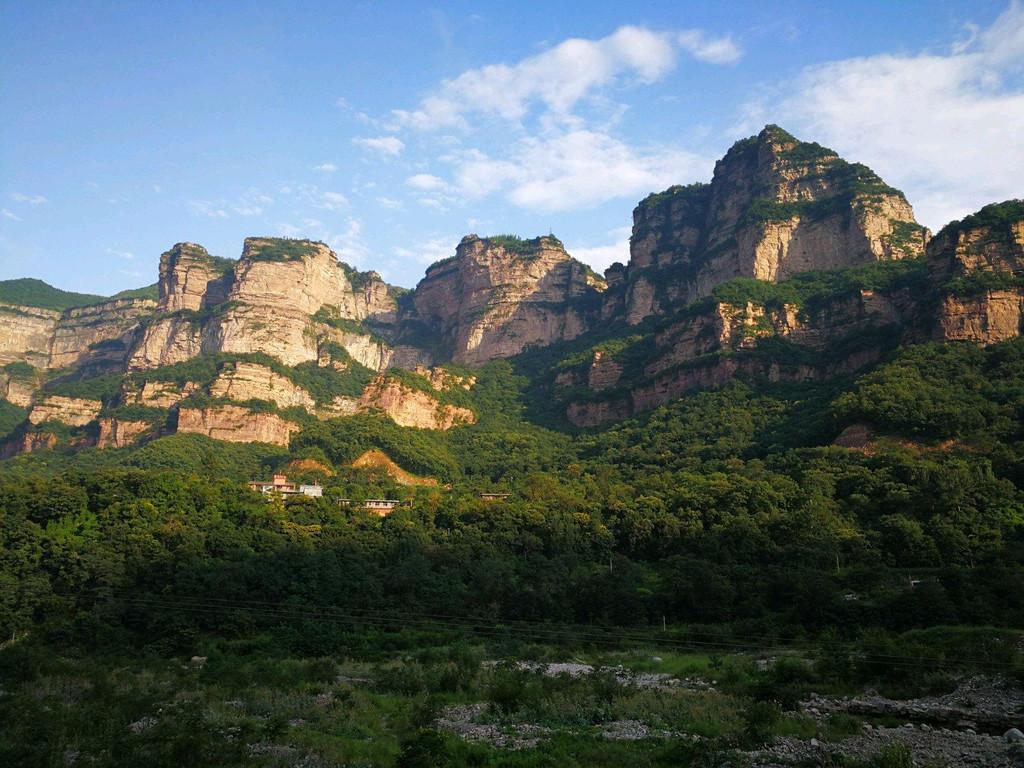 太行大峡谷之1林州王相岩